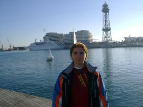 portul din BERCELONA