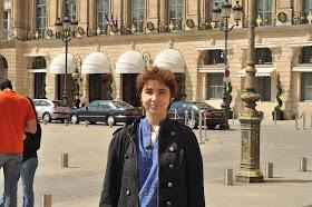 luxosul hotel Ritz din Paris (deocamdata admirat din  afara)