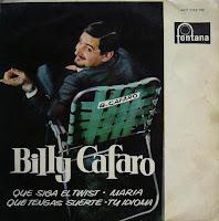 Billy Cafaro - Llevan - 1.er Premio IV Festival Español De La Canción, De Benidorm