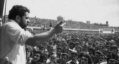 O maior evento liderado por Lula no estádio ocorreu em 13 de maio de 1979 bade3f5d50a93