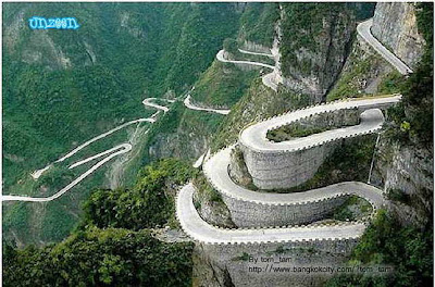 world amazing roads