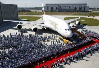 Delivery of the First A380 - Emirates Airline