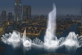 World's Largest Fountain in Dubai