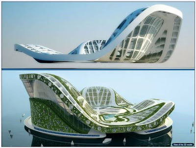 Dubai Lilypad Floating City