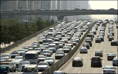 World's Longest Traffic Jam