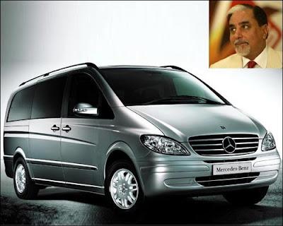 Subhash Chandra 's Car
