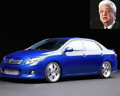Azim Premji 's Car