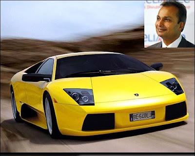 Anil Ambani 's Car