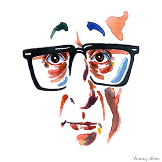 Woody Allen illustration