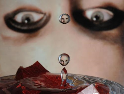 Face in a Drop photograph