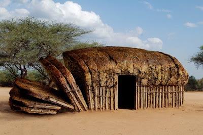 African Bread Hut - Photo Manipulation