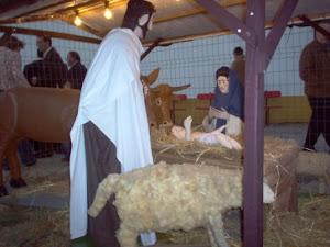 Inauguração do presépio a 8 de Dezembro de 2007