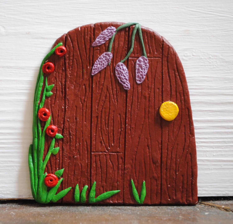 Mudmeddling fairy door painted for Fairy door pattern