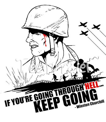 T-Shirts that make you go Woo-Woo!: WW2 Quote by Winston Churchill