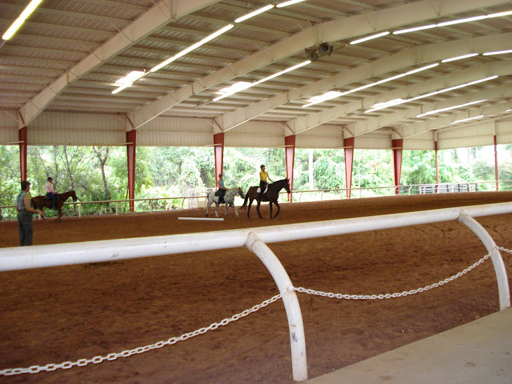 Riding at Grand Cypress Equestrian Center