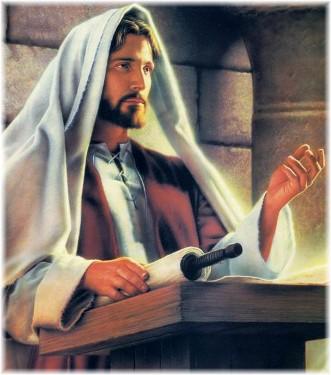 Predicando en el Templo