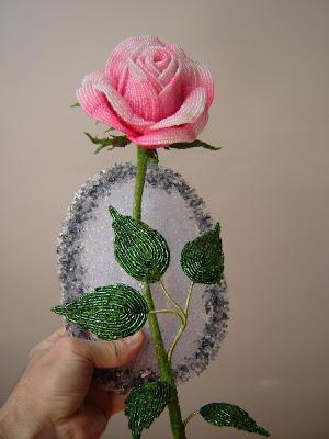 Бокаловидная роза мастер класс 112