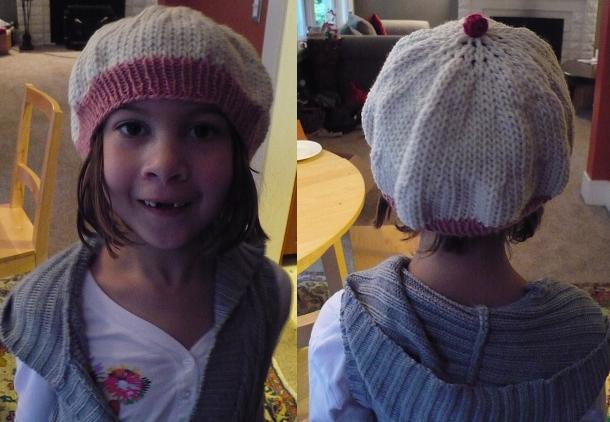 Knitting Project: Cupcake Hat