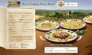 Hurry olive garden 39 s never ending pasta bowl ends on 10 10 mommy snippets for Olive garden endless pasta bowl