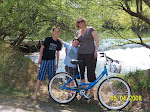 Bike ride on the Boise Green Belt