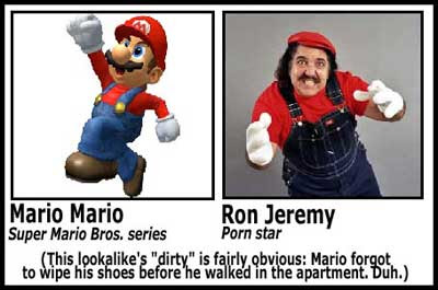 Resultado de imagen de Ron Jeremy mario bross
