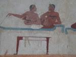 Lucaenean tomb paintings