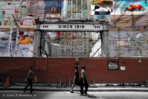 8_COLLAGE SERIES_ I. Goldberg facade