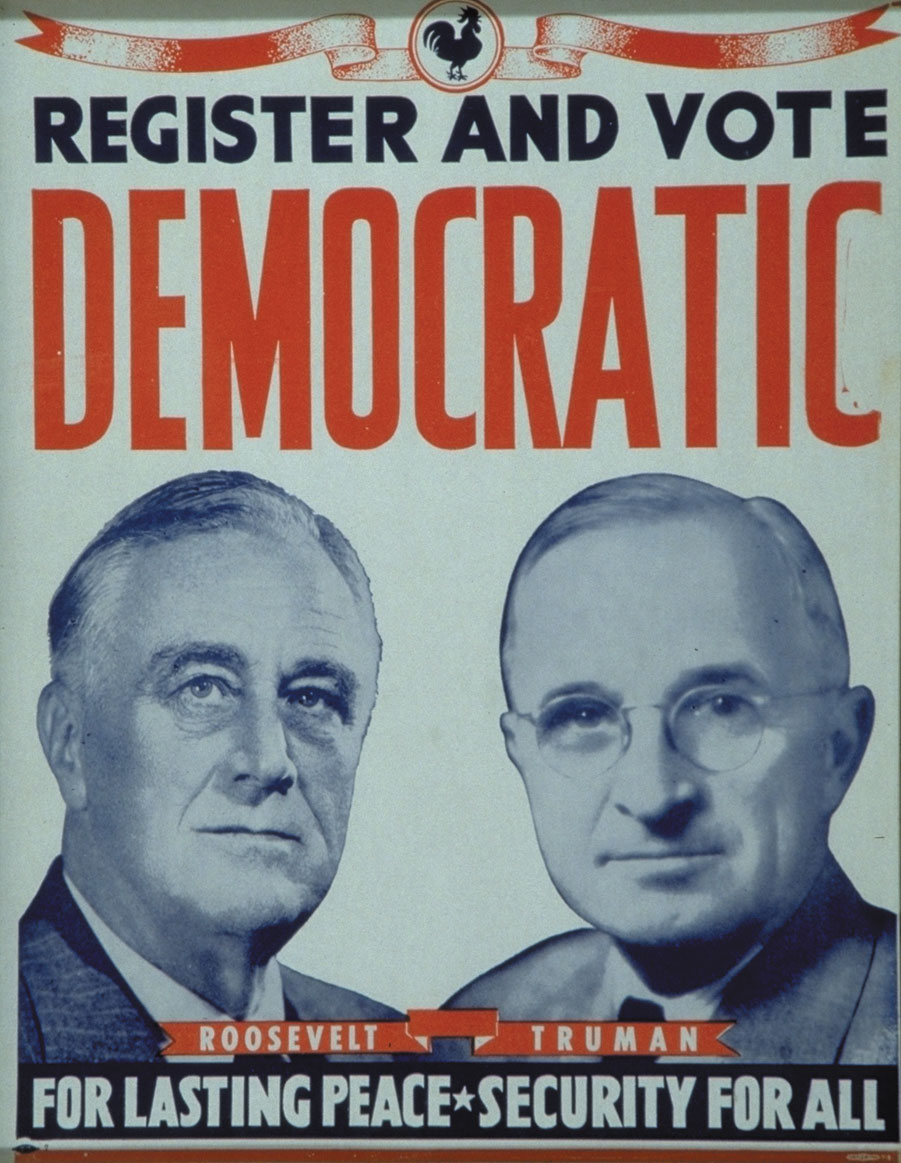 roosevelt vs truman The us president roosevelt died in 1945 he was replaced by truman who was strongly anti-communist and, as the war came to an end, the relationship between america.