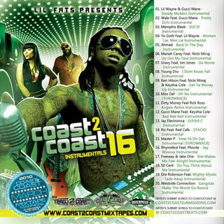 download coast 2 coast instrumentals vol.16