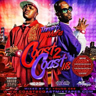 download coast 2 coast mixtape 118  three 6 mafia dj young cee