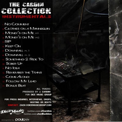 j.cardim and joe budden the cardim collection instrumentals back