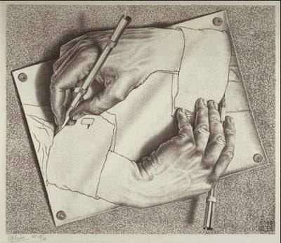 -by M.C. Escher-