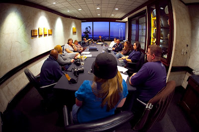 The Digital Photographer's Workshop at the Columbia Center Members club 75th floor by Clane Gessel and Trishann Couvillion