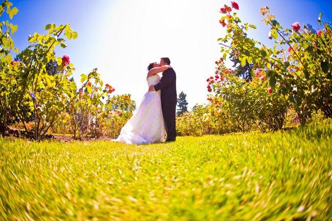 Portland rose gardens wedding photographer, wedding photos
