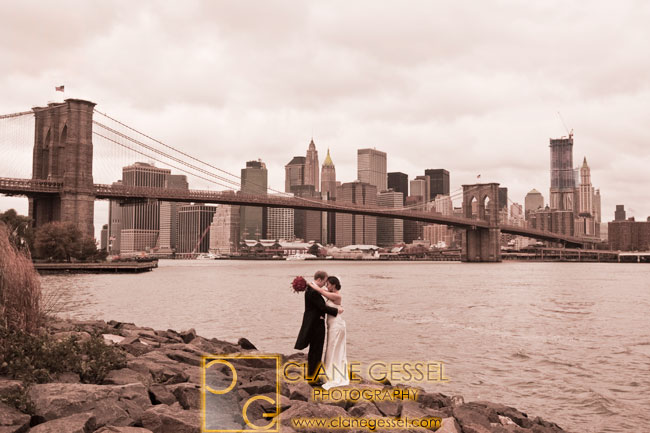 brooklyn bridge new york city, nyc wedding photography, nyc financial district