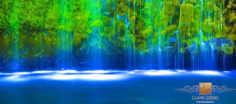 California waterfall