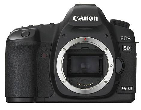 canon 5d mark II front