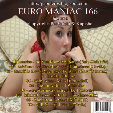 Euro Maniac Vol 166
