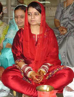 Rasika in some ceremony