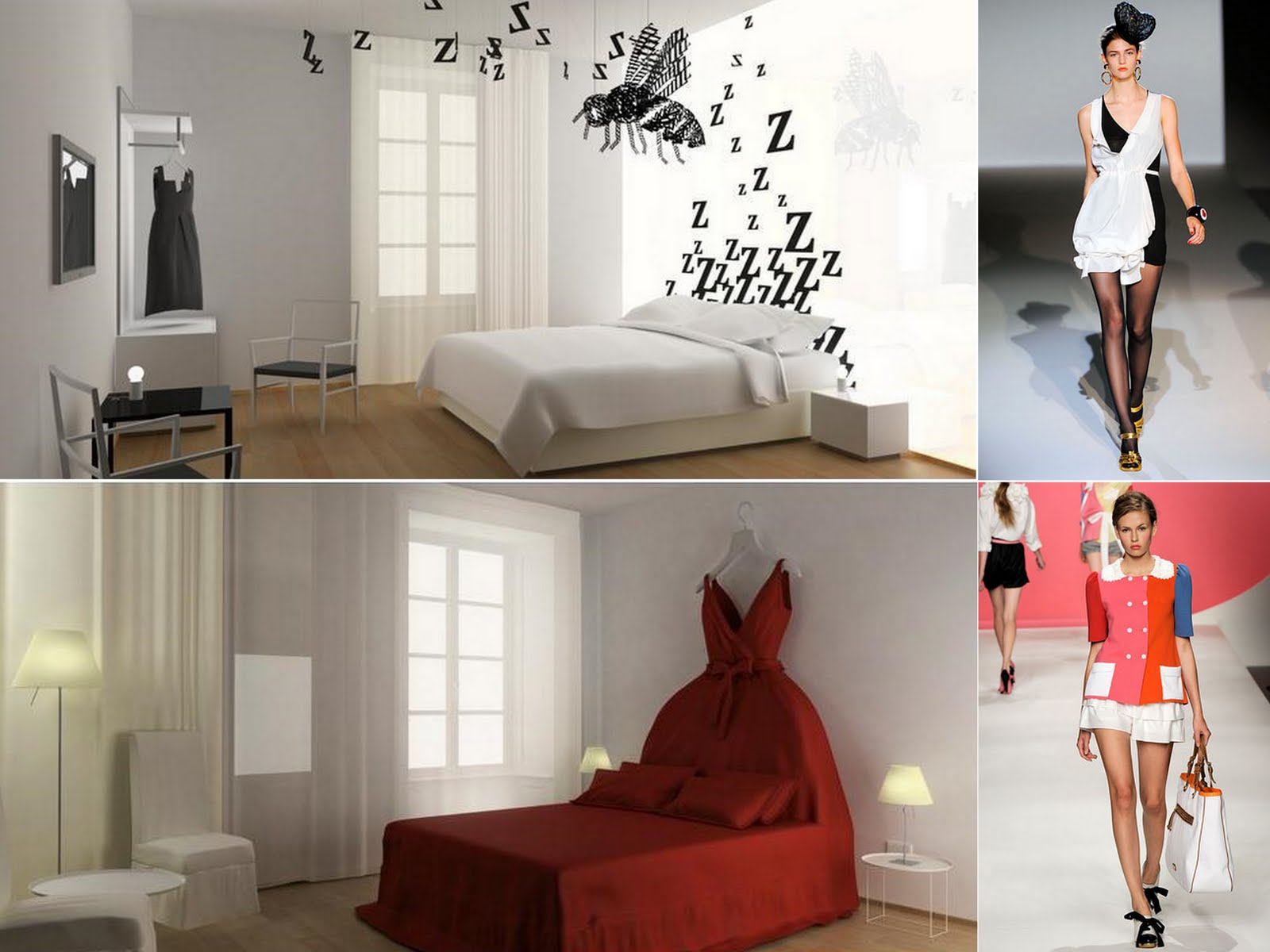 between the ordinary maison moschino. Black Bedroom Furniture Sets. Home Design Ideas