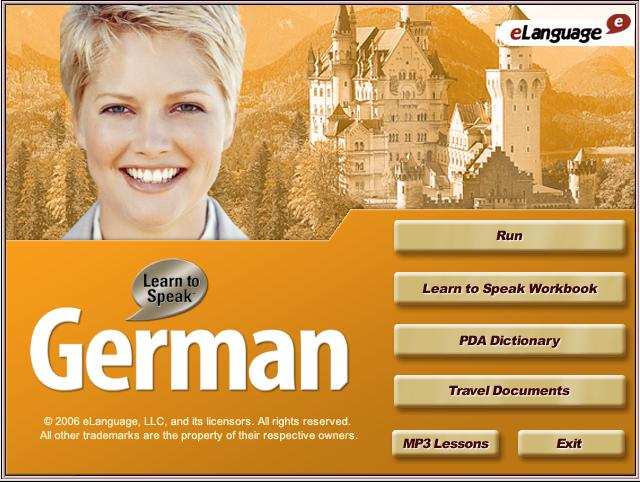 Elanguage learn to speak german deluxe