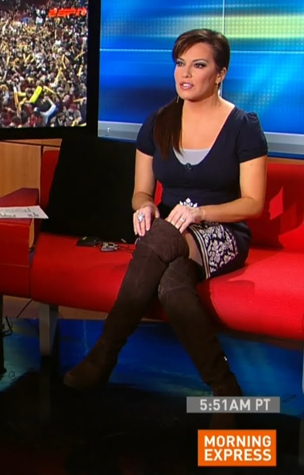 robin meade thigh high brown suede boots unlimited