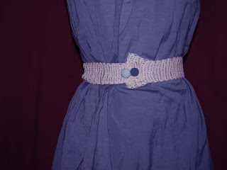 crochet belt diy