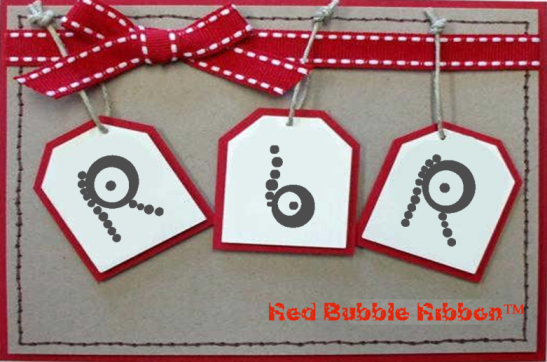 Red Bubble Ribbon™