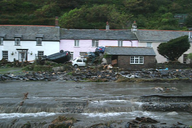 comment and compare the boscastle and When the cornish village of boscastle was devastated by flooding in 2004,  ' people are making changes that can really make a difference.