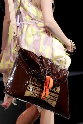 Louis Vuitton Garbage Bag louis vuitton trash bag: the raindrop besace spring 2010 | the