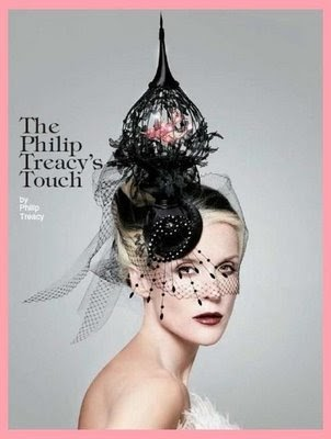 "The Terrier and Lobster: ""The Philip Treacy's Touch"": Daphne Guinness in Vogue Italia"