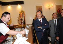 Caffe&#39; Florian opens at foreign ministry