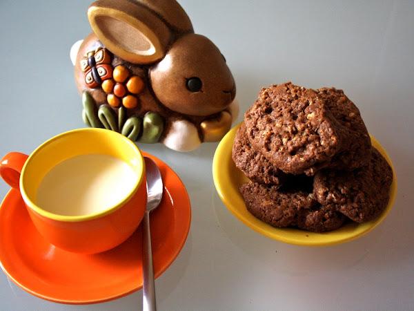 Biscotti muesli e cioccolato