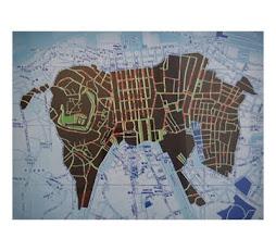 Un Burro en Lisboa.Serigrafía